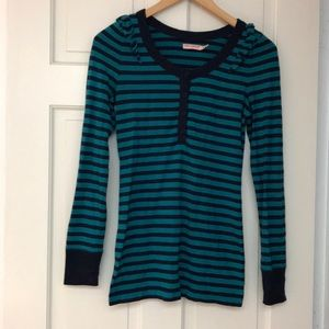 Juicy couture stretch wool blend knit top